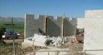 Araban'da İnşaat Duvarı Çöktü Açıklaması 1 Ölü, 1 Yaralı