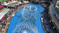 GÖKKUŞAĞI - Ataşehir'de Çocuklar 23 Nisan'ı Muhteşem Su Şovuyla Kutladı