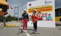 KOLOMBIYA - Barış İçin Direnen Çocuklar 15 Temmuz Şehitler Köprüsü'nde 'Barış Bildirisi' Okudu