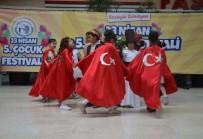 Bozüyük'te 5. Çocuk Festivali'nde Çocuklar Doyasıya Eğlendi