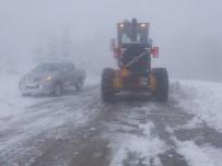 Büyükşehir Kar Timi Yolları Sürekli Açık Tuttu