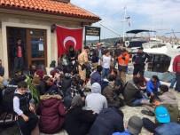 SAHİL GÜVENLİK - Çanakkale'de 51 Kaçak Yakalandı