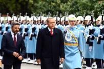 AHMET AYDIN - Cumhurbaşkanı Erdoğan Meclis'te