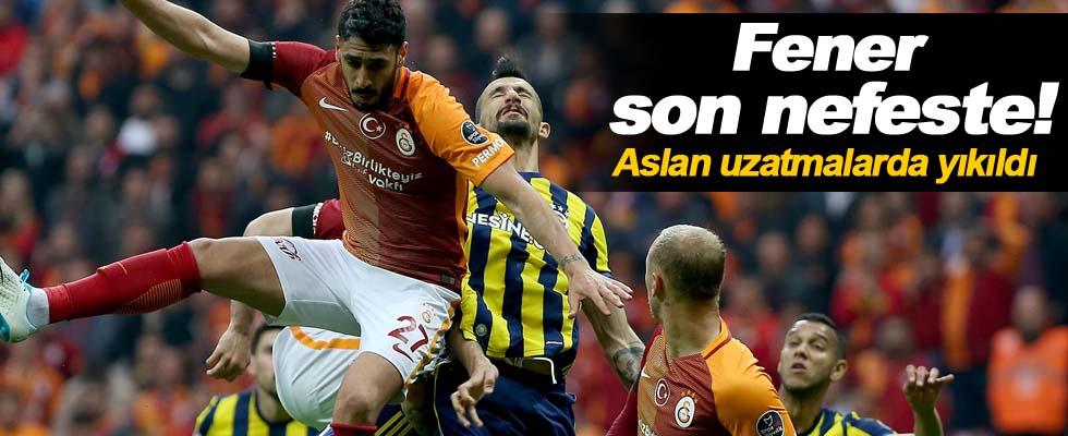 Maç sonucu: Fenerbahçe 1-0 Galatasaray