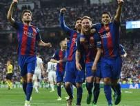 İSPANYA - El Clasico'da gol düellosunu Barcelona kazandı