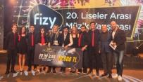 MÜZİK YARIŞMASI - Fizy 20. Liseler Arası Müzik Yarışması'nda Genç Müzisyenler Ünlülerle Aynı Sahneyi Paylaştı