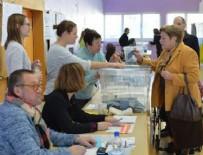 AVRUPA - Fransa'da oy verme işlemi başladı