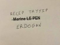 RECEP TAYYİP ERDOĞAN - Fransa'daki seçimlere Erdoğan damgası