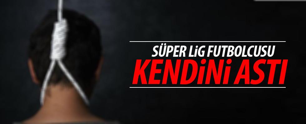 Süper Lig oyuncusu kendini astı