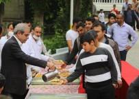 SABAH NAMAZı - Haliliye Belediyesinden Kısas'ta Tirit Ziyafeti