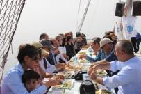 VOLKAN KÖKSAL - Hatay Protokolüne Teknede Balık Ziyafeti