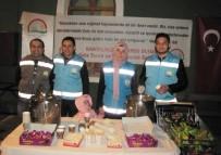 MIRAÇ KANDILI - Hisarcık İlçe Gıda Tarım Ve Hayvancılık Müdürlüğünden Sıcak Kandil Sütü