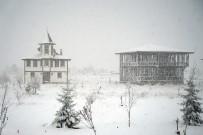 KAR KALINLIĞI - Kastamonu'da Kar Yağışı Etkili Oluyor