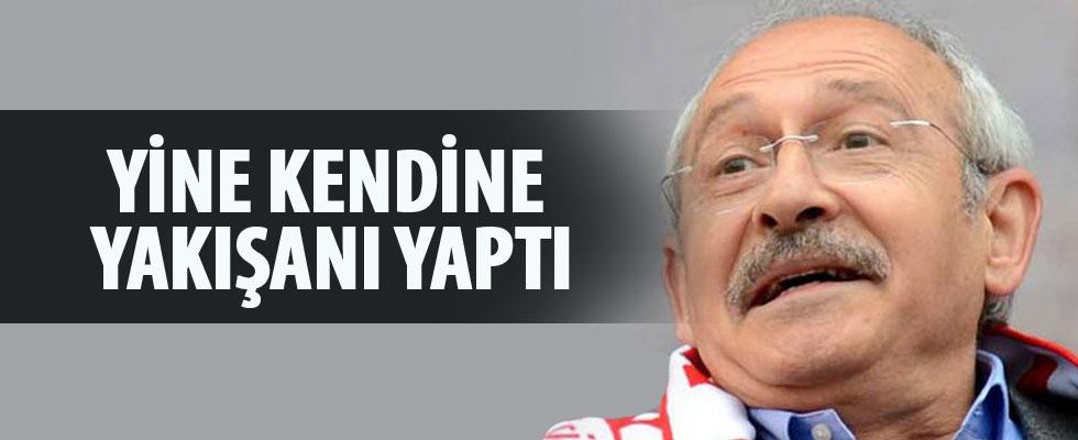 Kılıçdaroğlu yine kendine yakışanı yaptı