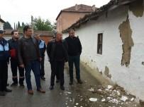 HASAR TESPİT - Manisa Büyükşehir'den Deprem Sonrası Saruhanlı'da Hasar Tespiti