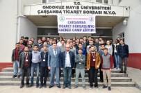 OMÜ 'Hacker Kampa' Ev Sahipliği Yaptı