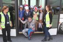 APRON - (Özel) Çalışanların Çocuklarına Havalimanını Gezdirdiler