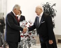 MECLİS BAŞKANLARI - Türkiye Büyük Millet Meclisi Başkanı İsmail Kahraman Tebrikleri Kabul Etti