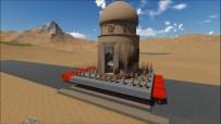 Zeynel Bey Türbesi'ni Taşıma Simülasyonu Paylaşıldı