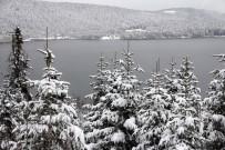 ABANT - Abant'ta Kar Manzarası Büyülüyor