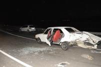 BEYMELEK - Antalya'da Trafik Kazası Açıklaması 5 Yaralı