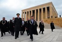 ANıTKABIR - AYM'nin Kuruluşunun 55. Yılında Anıtkabir Ziyareti