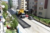 SICAK ASFALT - Başharık Mahallesinde Sıcak Asfalt Çalışması Yapıldı