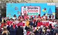 AHMET MISBAH DEMIRCAN - Beyoğlu'nda 23 Nisan Coşkusu Devam Ediyor