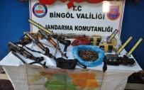 TIBBİ MALZEME - Bingöl'de Terörle Mücadele Operasyonları Hız Kesmeden Devam Ediyor
