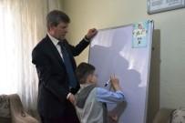 OKUL MÜDÜRÜ - Engelli Öğrenciye Evde Eğitim