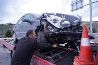 İki Otomobil Çarpıştı Açıklaması 7 Yaralı