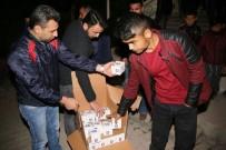 MIRAÇ KANDILI - Karaman Belediyesi Kandil Simidi Dağıttı