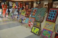 Köy Öğrencilerinin Hazırladığı El Sanatları Sergisi Yoğun İlgi Gördü