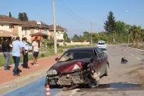 MUSTAFA KOCA - Manavgat'ta Trafik Kazası Açıklaması 1 Yaralı
