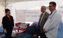 SAĞLIKLI YAŞAM - Manisa'da Günde 45 Ünite Kan Toplayan Merkez