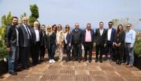 AHMET ÜNAL - Mersinli Gazeteciler GAÜ'ye Hayran Kaldı