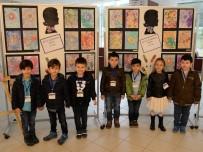 ÖĞRENCİLER - Miniklerin Ebru Sergisi Göz Kamaştırdı