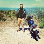 AKARYAKIT İSTASYONU - Motosiklet Tutkunu Genç Kazada Hayatını Kaybetti