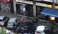 AMATÖR - Polis Bıçaklı Şahsı Vurdu