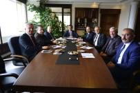 FAKÜLTE - Rektör Özer, Belediye Başkanları İle Üniversitenin Gelişimini Paylaştı