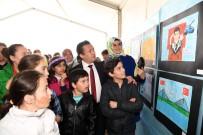 RESİM YARIŞMASI - Tuzla Belediyesi Gönül Elleri Çarşısı'na Kayıtlı Çocuklar, 'Kahramanlık'I Resmetti