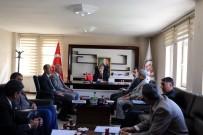 BİTLİS - Vali Çınar, Birim Amirleriyle Toplantı Yaptı