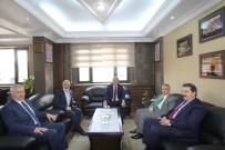 İL GENEL MECLİSİ - Yavuz Donat'tan Başkan Memiş'e Ziyaret