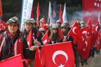 ÇANAKKALE 1915 - 57. Alay'a Vefa yürüyüşü gerçekleştirildi