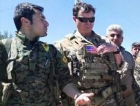 PKK - ABD'li komutanlar YPG'lilerle Karakoçak'ta