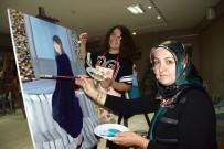 Anneye Kızından 'Yağlı Boya Tablo' Kursu