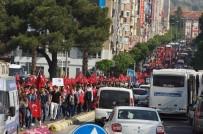 Aydın'da Binler 57. Alay Şehitleri İçin Yürüdü