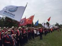 İZCILIK FEDERASYONU - Bağcılarlı İzciler 57'Nci Alay Yürüyüşü'ne Katıldı