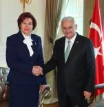 Başbakan Yıldırım, Danıştay Başkanı Güngör'ü Kabul Etti