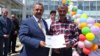 Burhaniye'de Çevreci Vatandaşa Teşekkür Belgesi